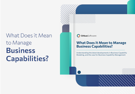 What Does It Mean to Manage Business Capabilities