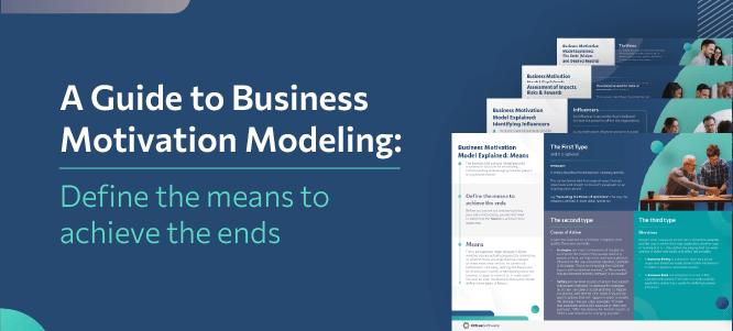 Business Motivation Model Poster Pack
