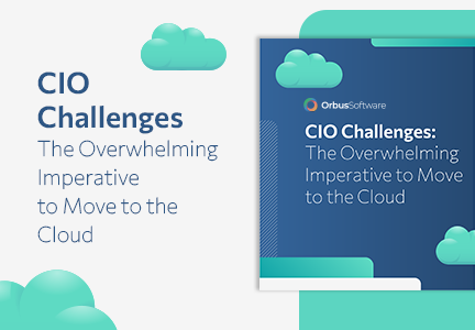 CIO Challenges The Overwhelming Imperative to Move to the Cloud Card