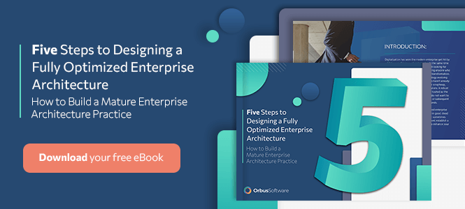 Five Steps to Designing a Fully Optimized Enterprise Architecture