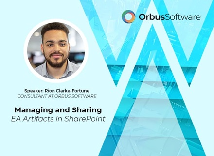 Managing and Sharing EA Artifacts in SharePoint Website Banner
