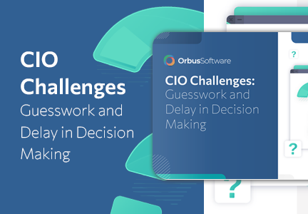 CIO Challenges Guesswork and Delay in Decision Making - 600 x 600 v2